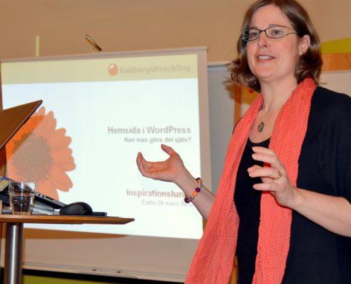 Maria Kullberg: Hemsida i WordPress - kan man göra det själv?
