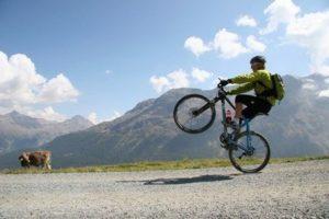 Cykel Calle Friberg. Fokusera på vad du sätter igång.