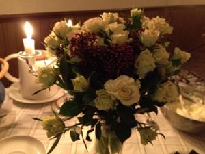 Fira framgångar: Blommor från körsångsvännerna