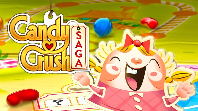 Spel på Facebook: Candy Crush Saga