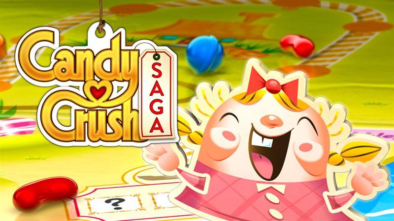 Spel på Facebook: Candy Crush Saga