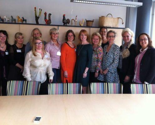 Arbetsgrupp Ambassadörer kvinnors företagande med Annie Lööf 20120924