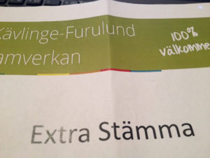 Kävlinge-Furulund Samverkan Extra stämma 20141210