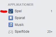 Blockera spel på Facebook - guide - steg 1