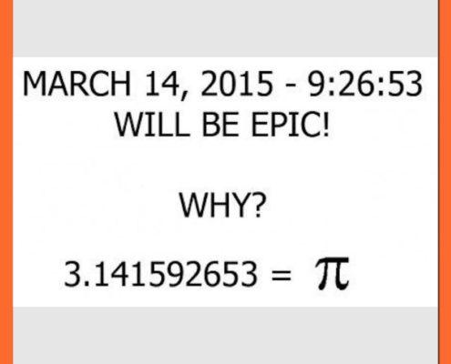 Pi-dagen 14 mars 2015
