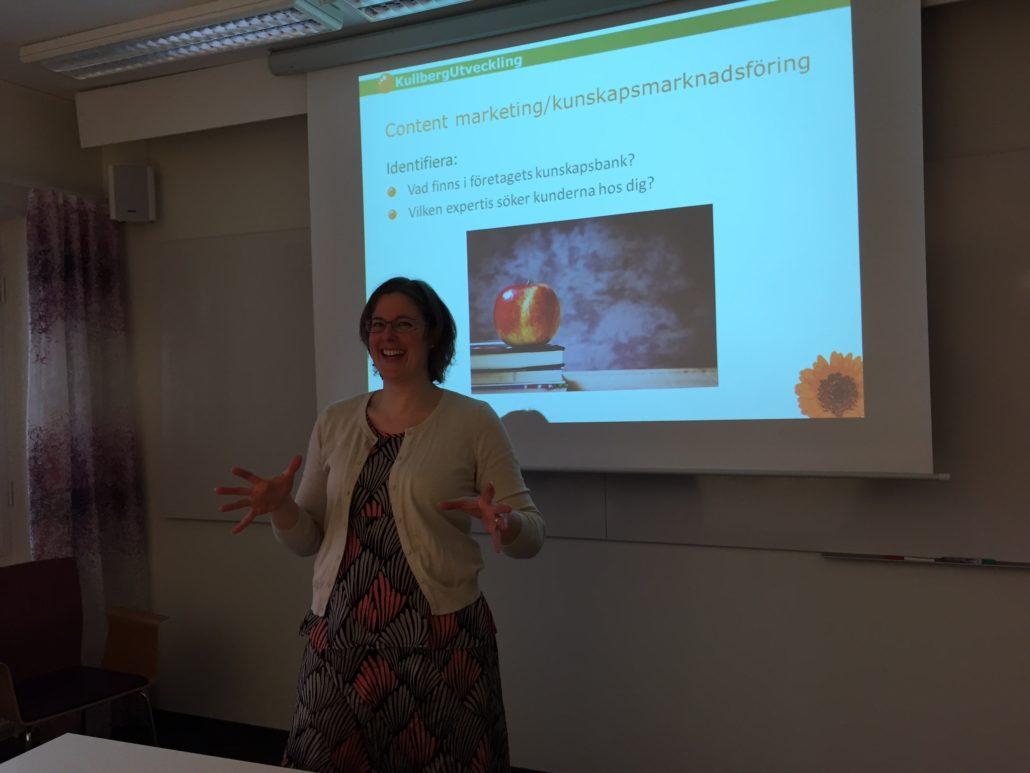 Maria Kullberg om kunskapsmarknadsföring