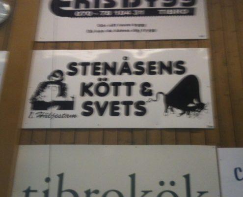 Stenåsens Kött & Svets. Oväntad kombination. Foto: Annelie Ekelöw