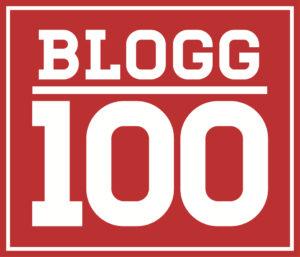 #blogg100 - logga