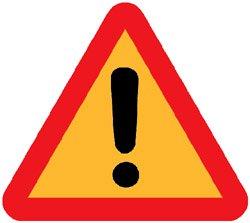 Varningstriangel - varning för Panlegis/Global Corporate Services