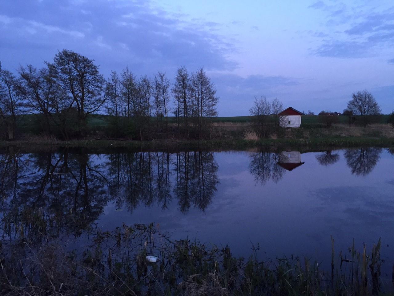 Valborg 2015 spegelblankt vatten