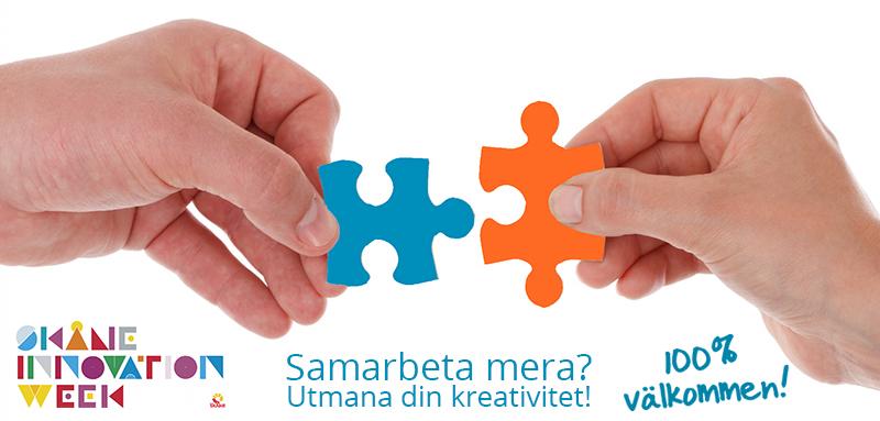 Samarbeta mera? Utmana din kreativitet!