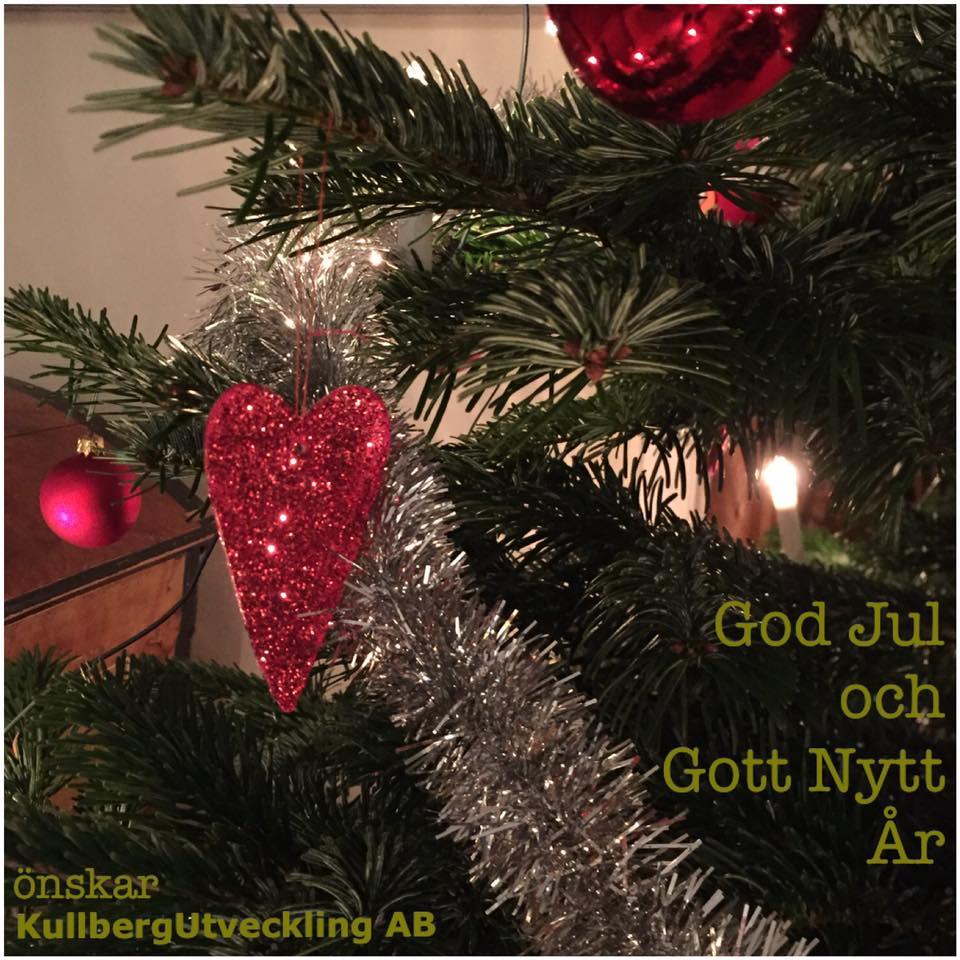 God Jul 2016 önskar KullbergUtveckling AB