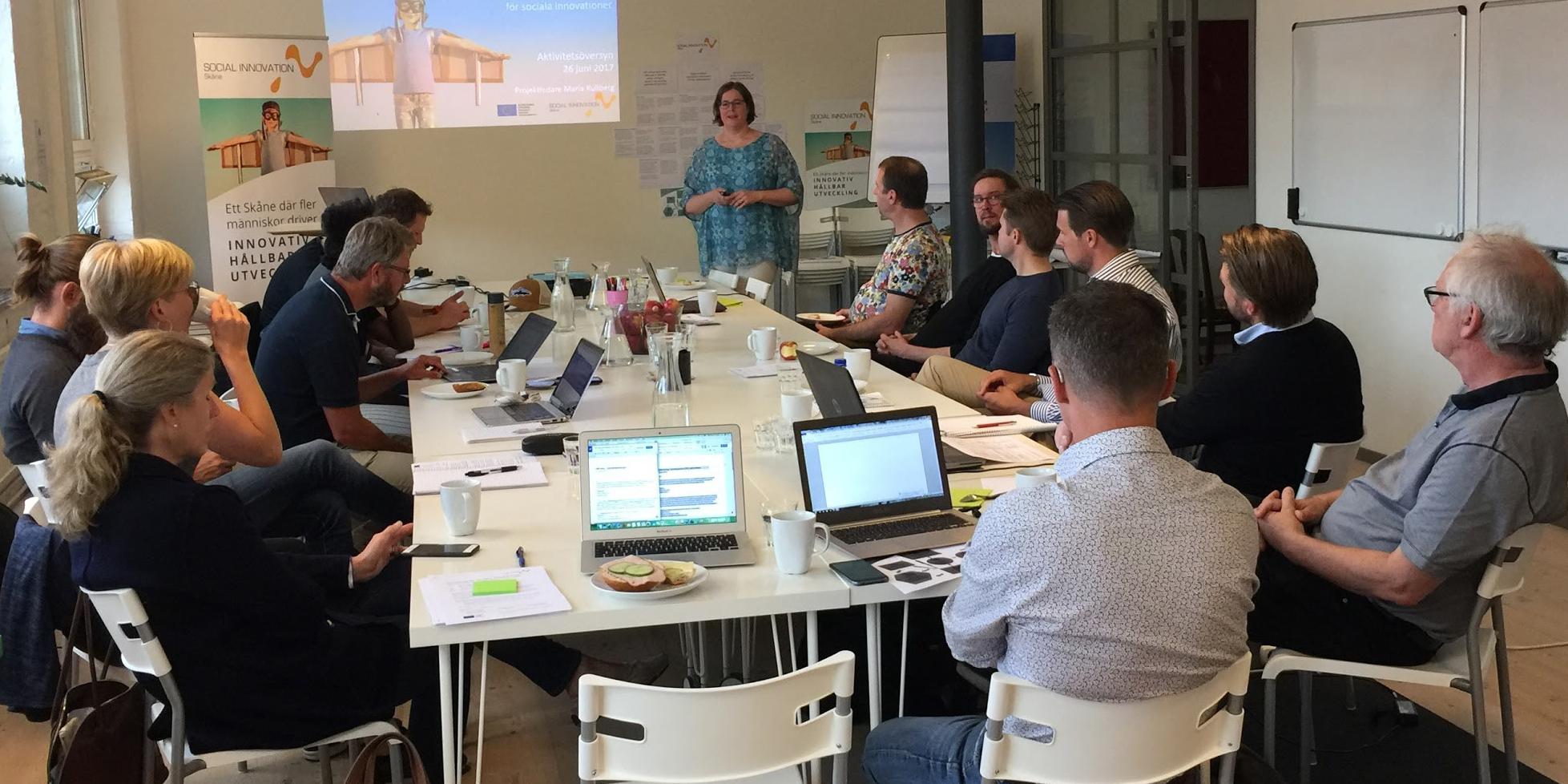 Social Innovation Skåne - aktivitetsöversyn juni 2017. Foto: Rebecka Hinn