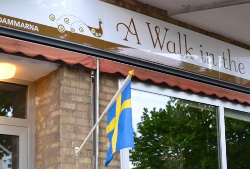 Inspirationslunch på A Walk in the Park, Pildammarna i Malmö