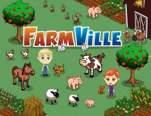 Spel på Facebook: Farmville