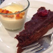 Chokladterrine Grand Hotell