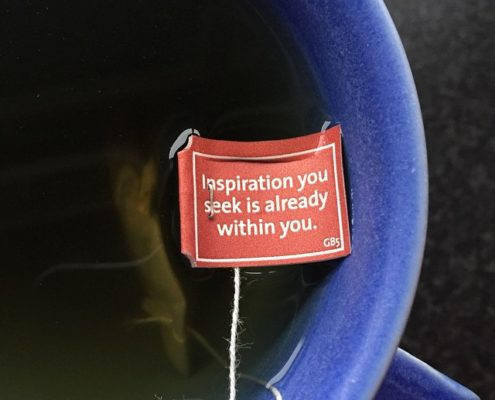 Inspiration you seek is already within you