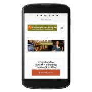 Härligt, sidan är mobilanpassad! (Googles nya algoritmer)
